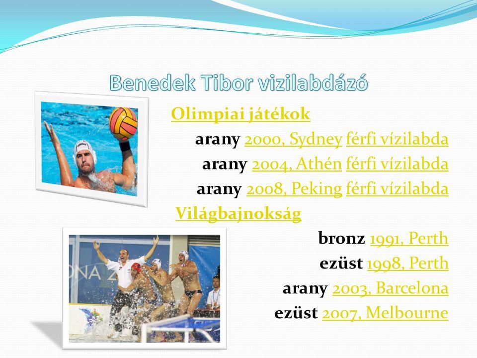 Benedek Tibor vizilabdázó
