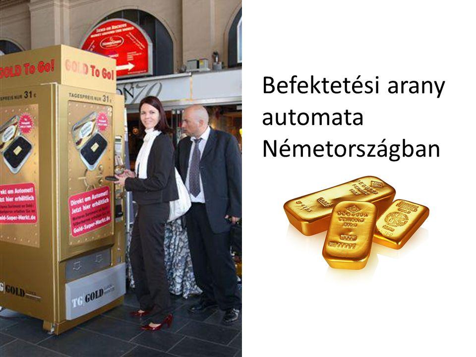 Befektetési arany automata