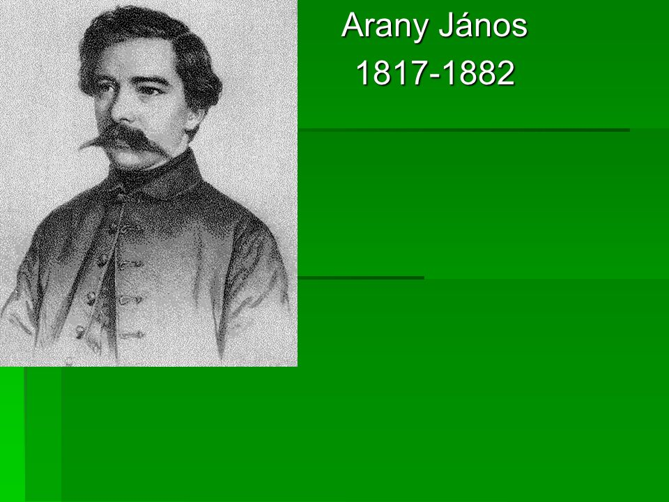 Arany János 1817-1882