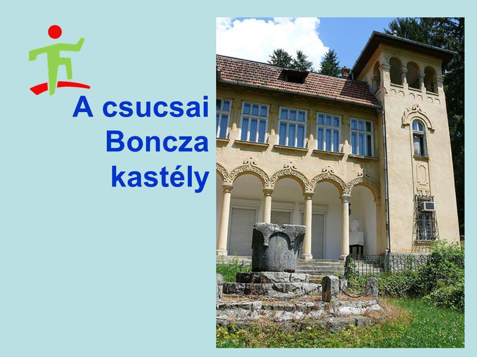 A csucsai Boncza kastély