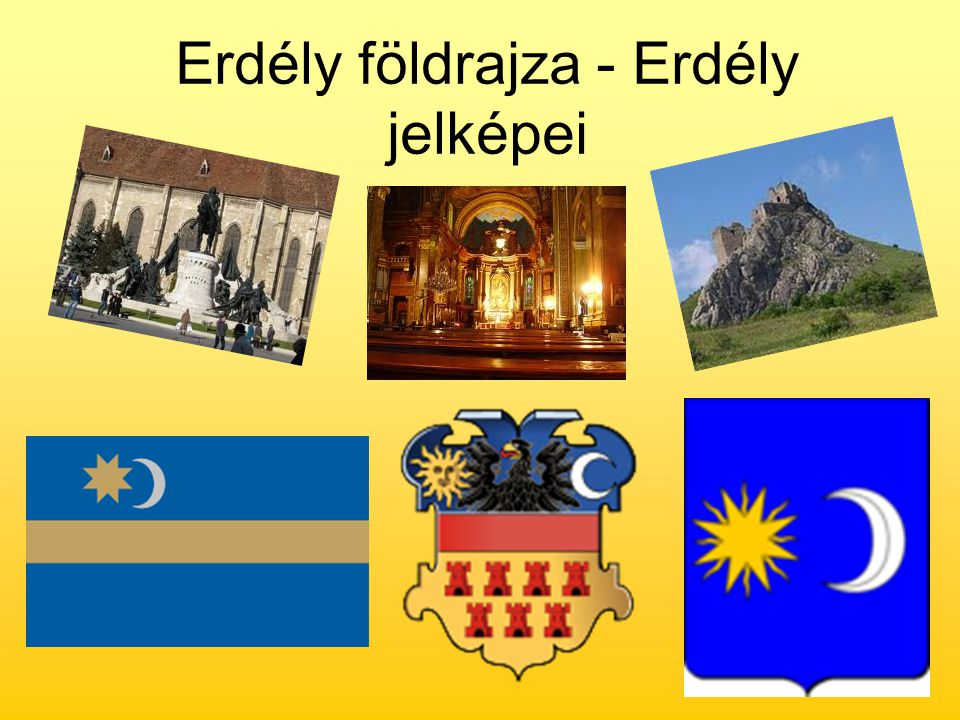 Erdély földrajza - Erdély jelképei