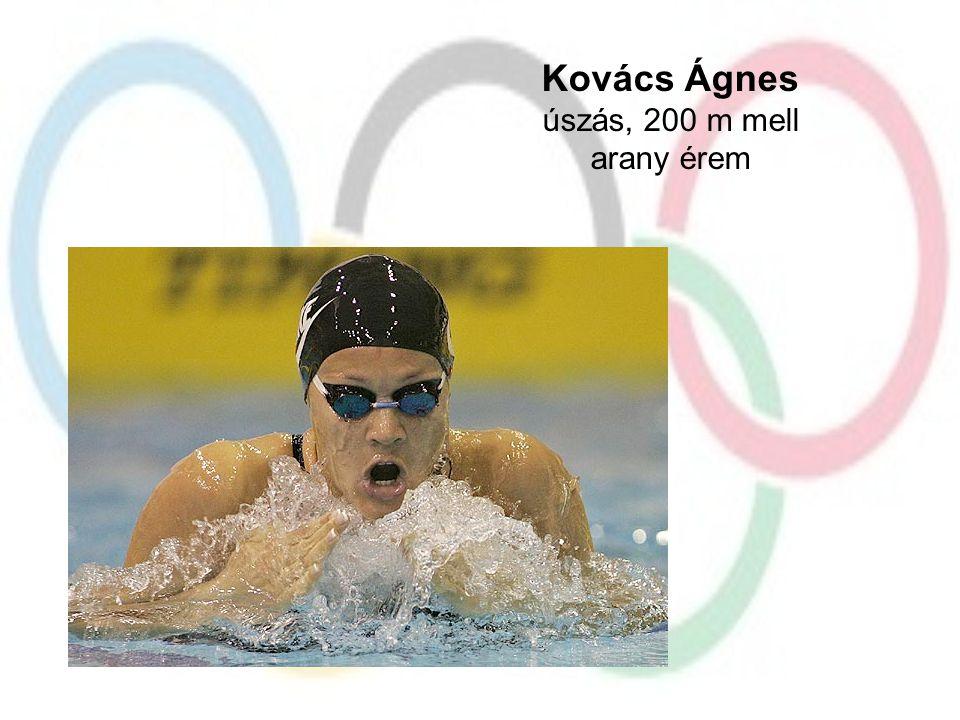 Kovács Ágnes úszás, 200 m mell arany érem