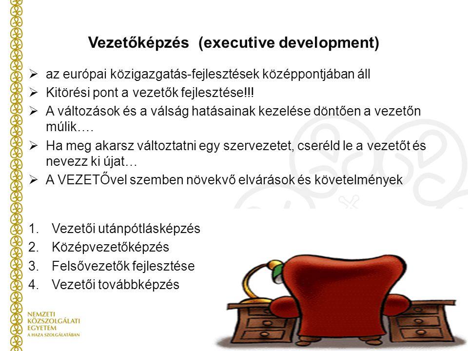 Vezetőképzés (executive development)