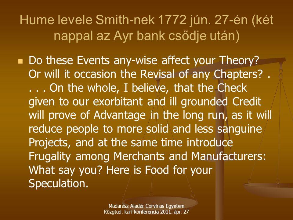 Hume levele Smith-nek 1772 jún