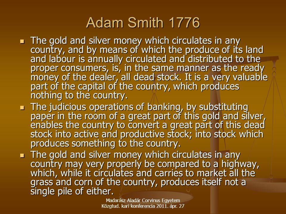 Adam Smith 1776
