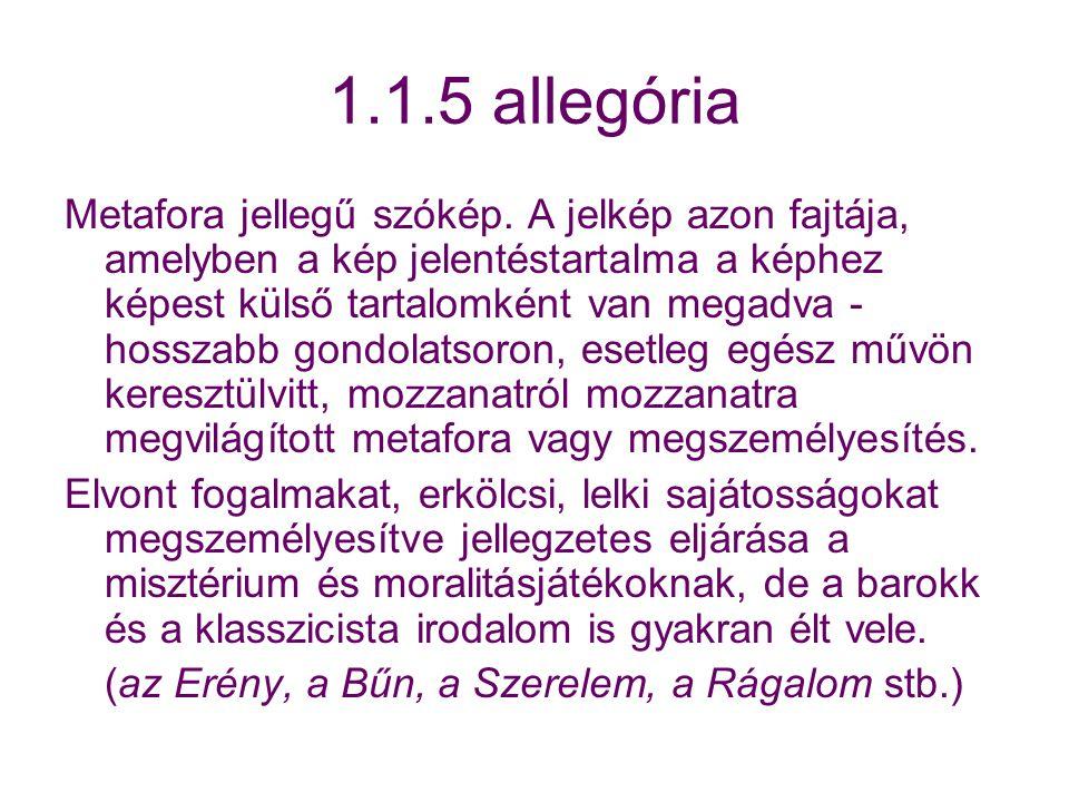 1.1.5 allegória