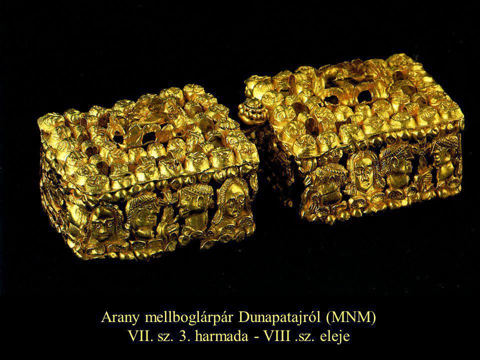 Arany mellboglárpár Dunapatajról (MNM)