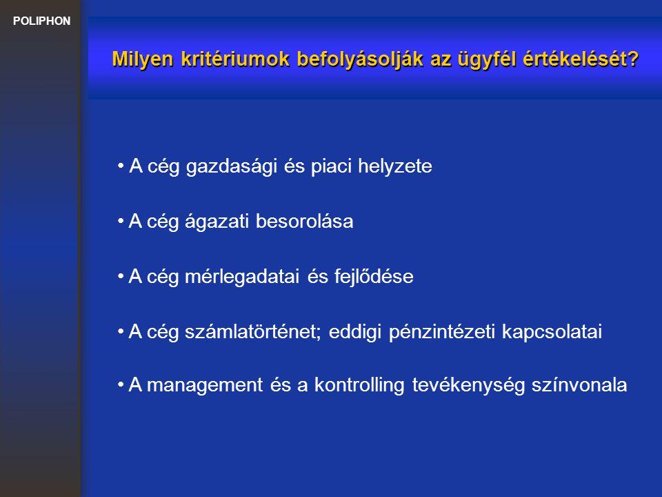 Milyen kritériumok befolyásolják az ügyfél értékelését
