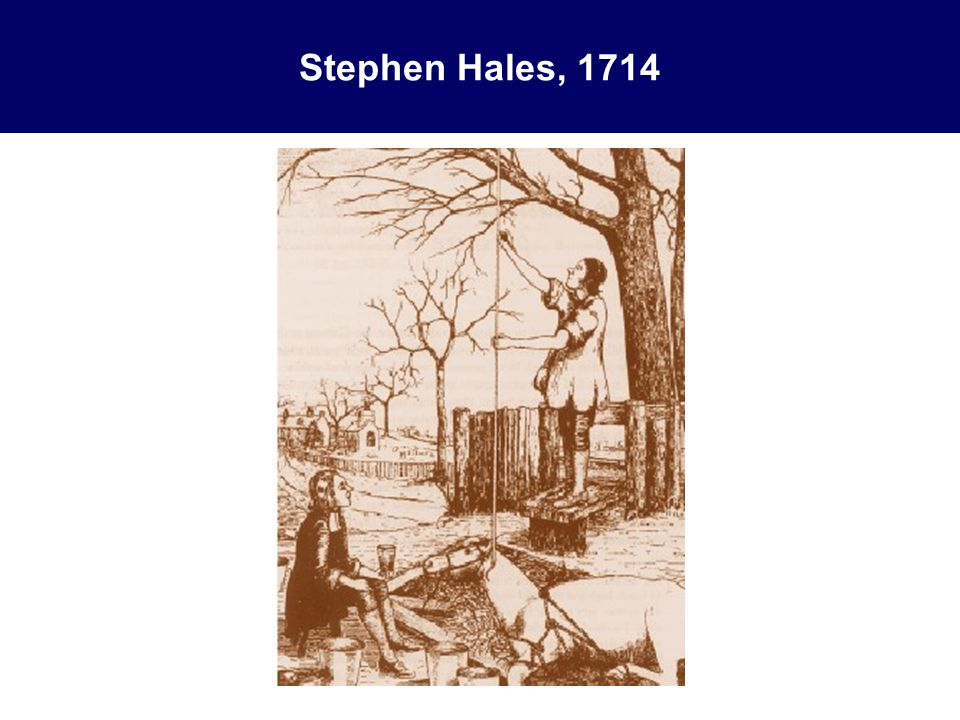 Stephen Hales, 1714