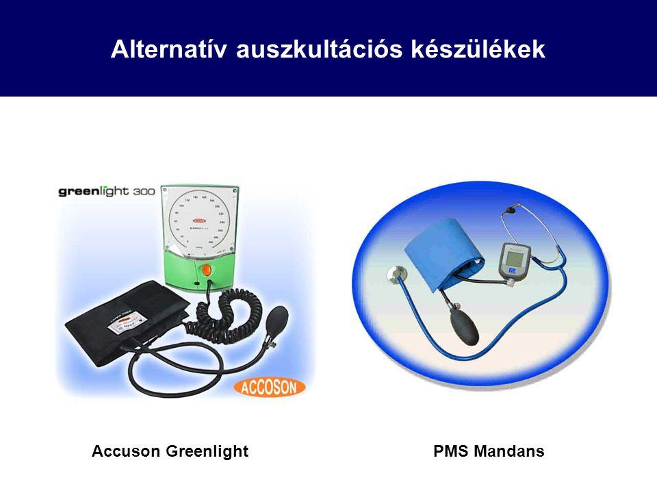 Alternatív auszkultációs készülékek