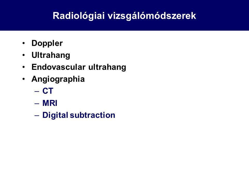 Radiológiai vizsgálómódszerek