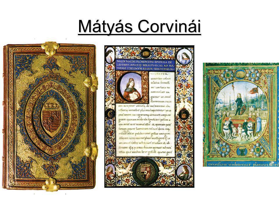 Mátyás Corvinái