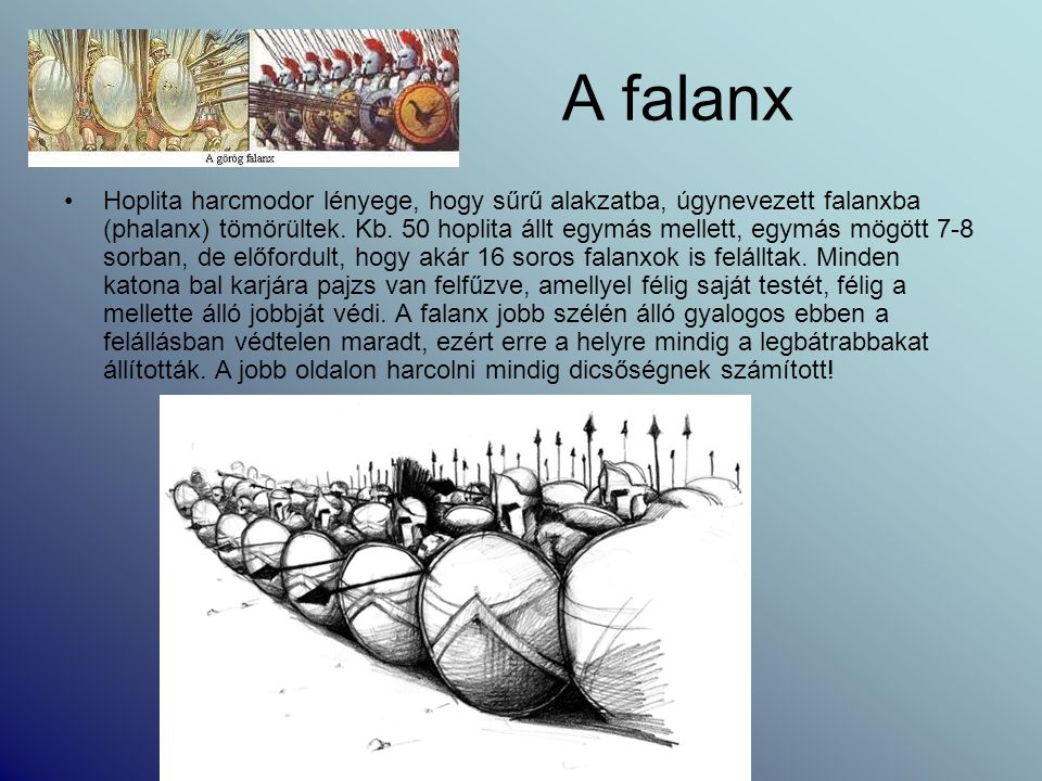 A falanx