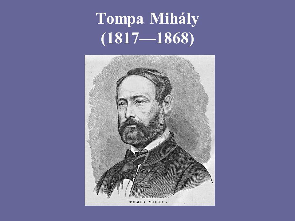 Tompa Mihály (1817—1868)