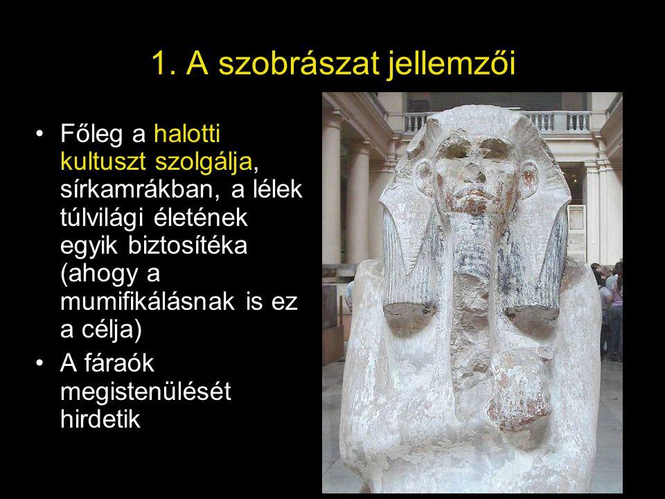 1. A szobrászat jellemzői