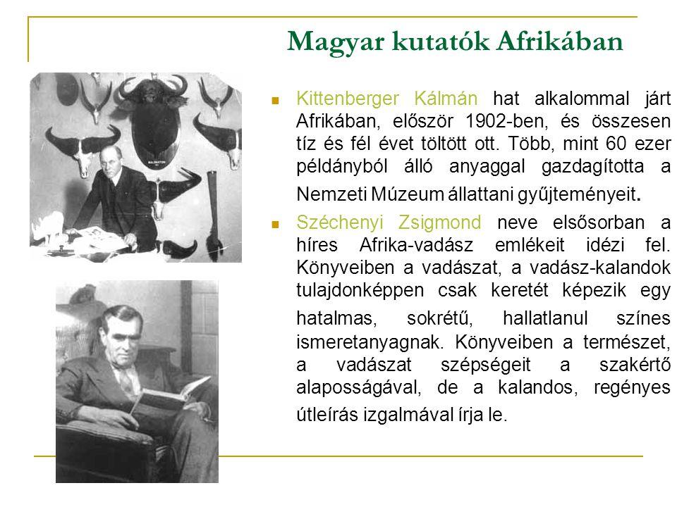 Magyar kutatók Afrikában
