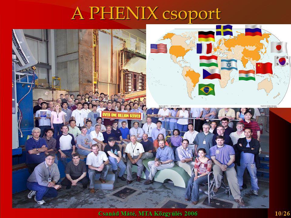 A PHENIX csoport