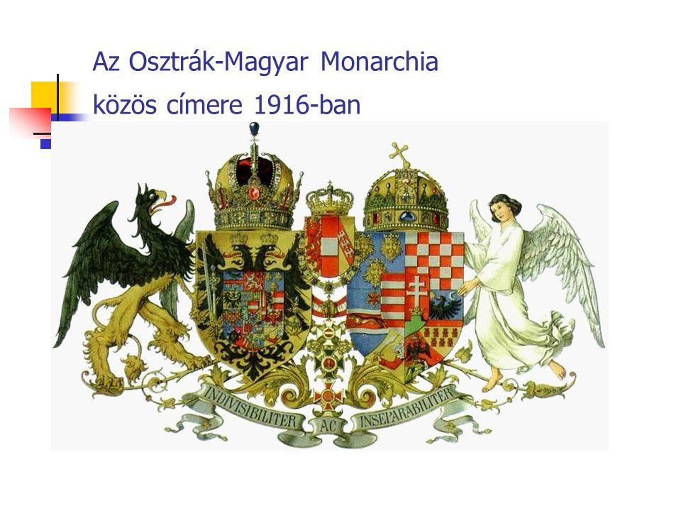 Az Osztrák-Magyar Monarchia közös címere 1916-ban