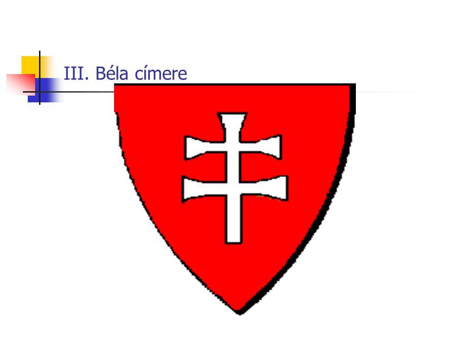 III. Béla címere