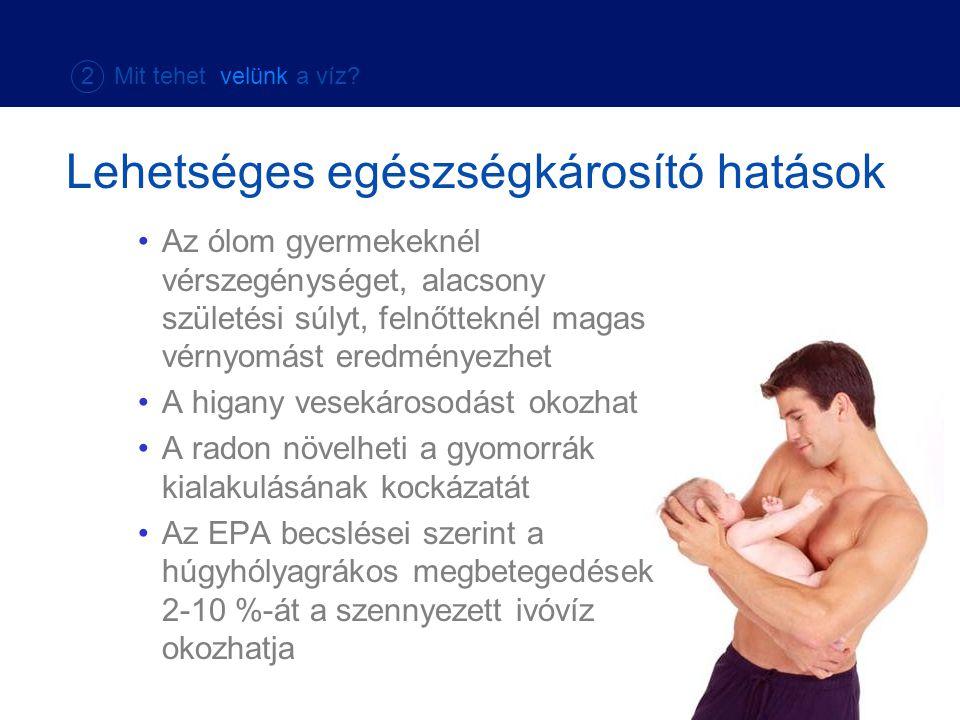 Lehetséges egészségkárosító hatások