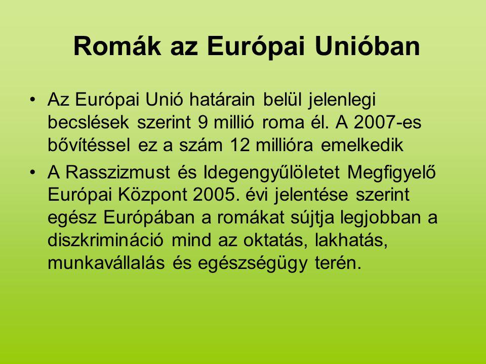 Romák az Európai Unióban