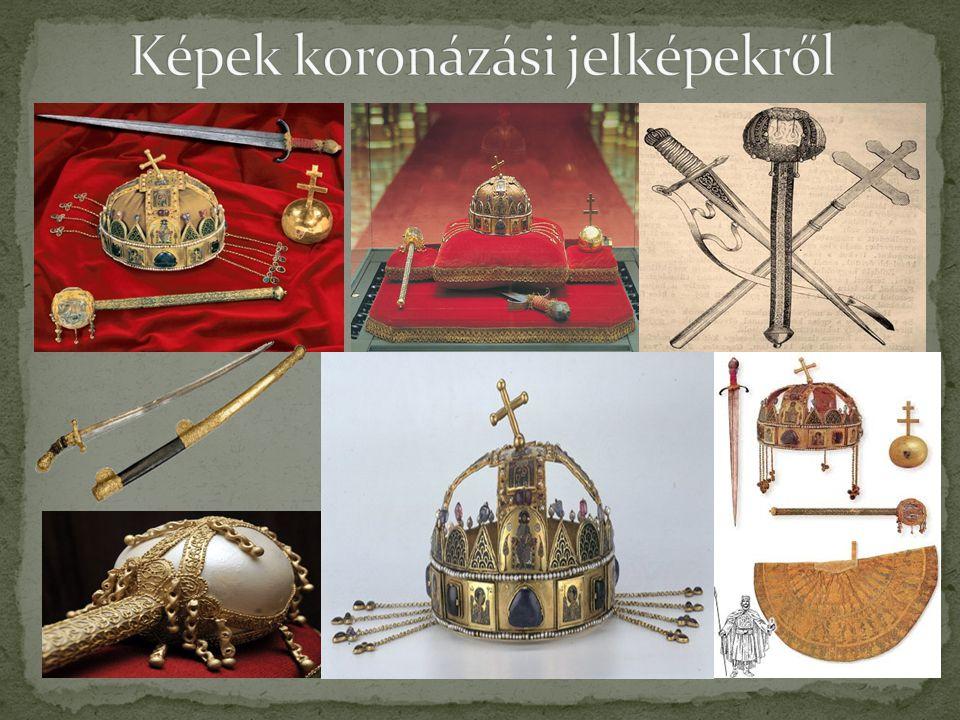 Képek koronázási jelképekről