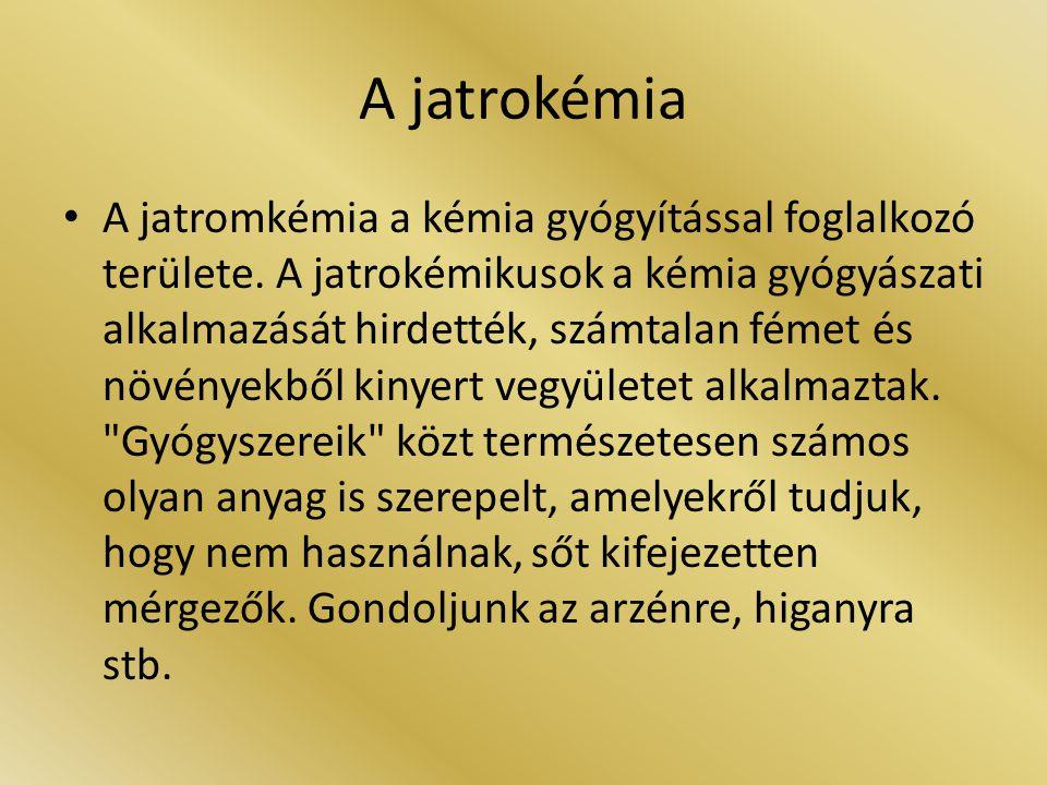A jatrokémia