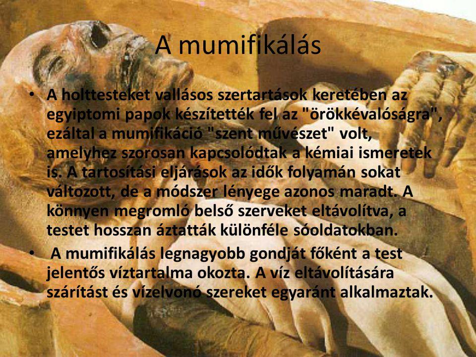 A mumifikálás