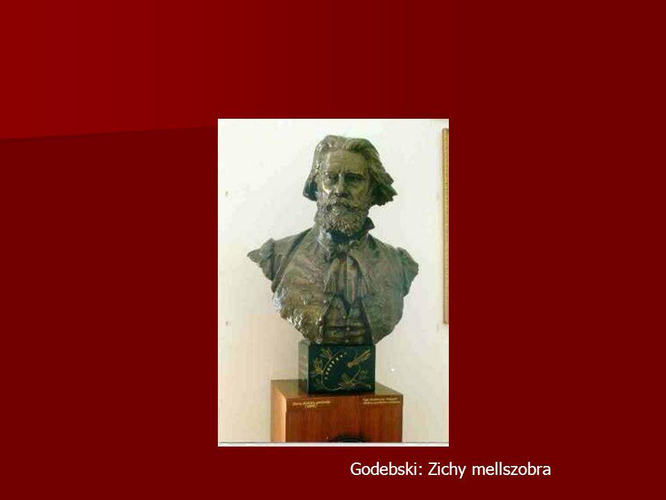 Godebski: Zichy mellszobra