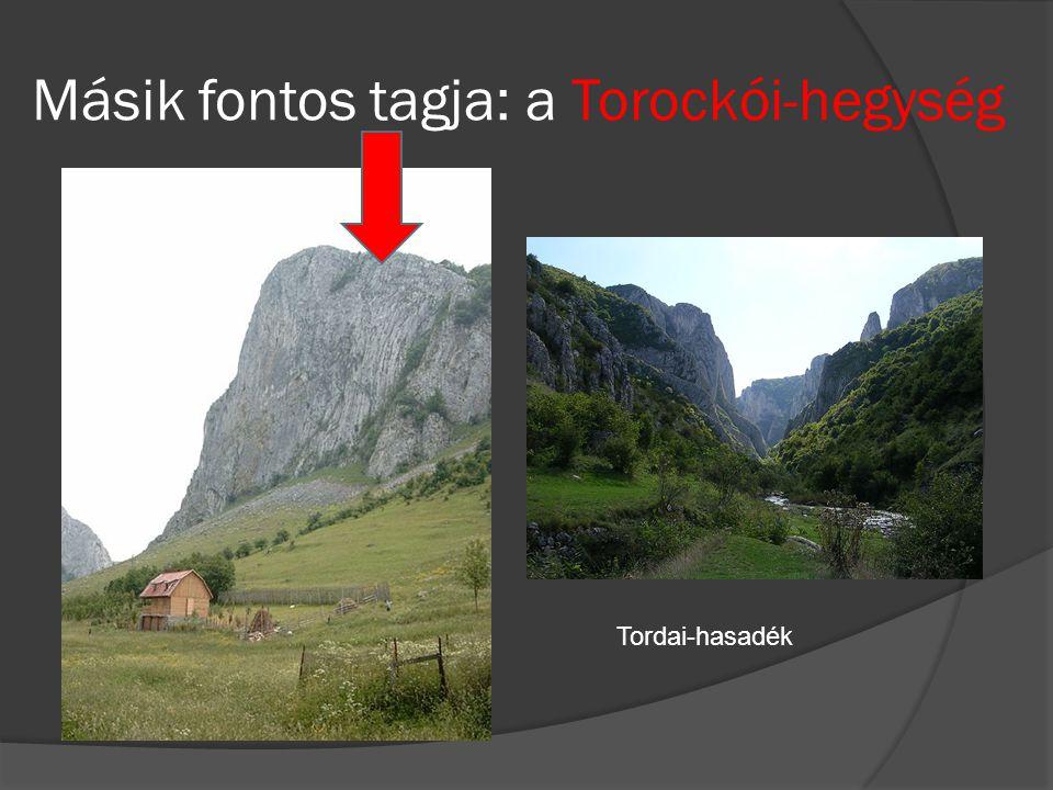 Másik fontos tagja: a Torockói-hegység