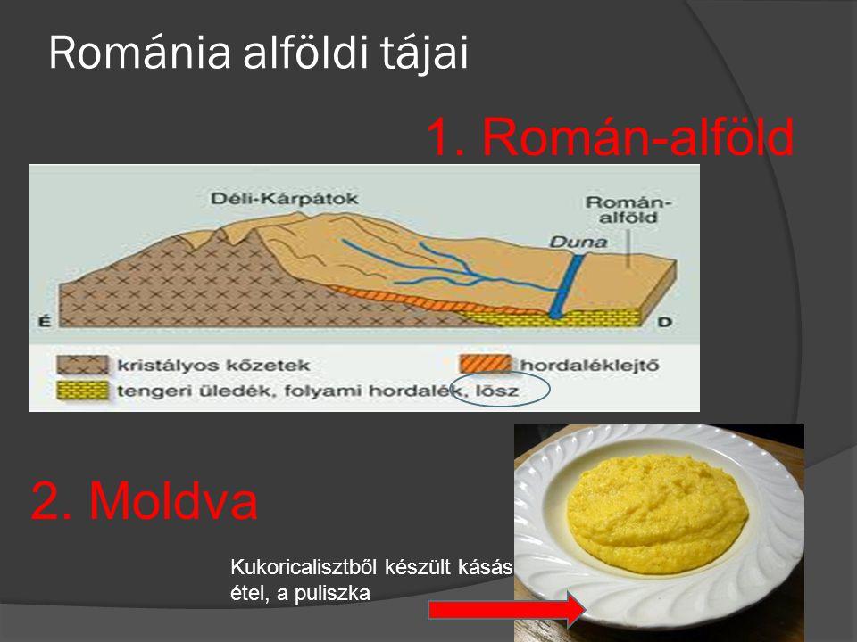1. Román-alföld 2. Moldva Románia alföldi tájai