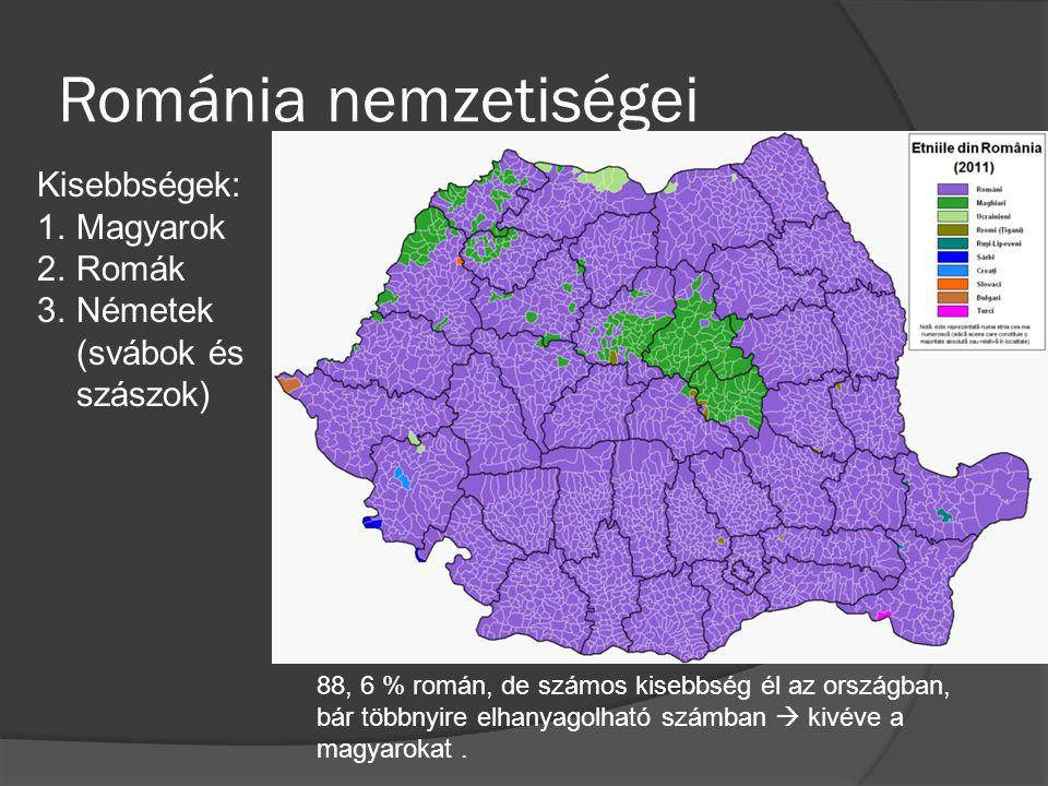 Románia nemzetiségei Kisebbségek: Magyarok Romák