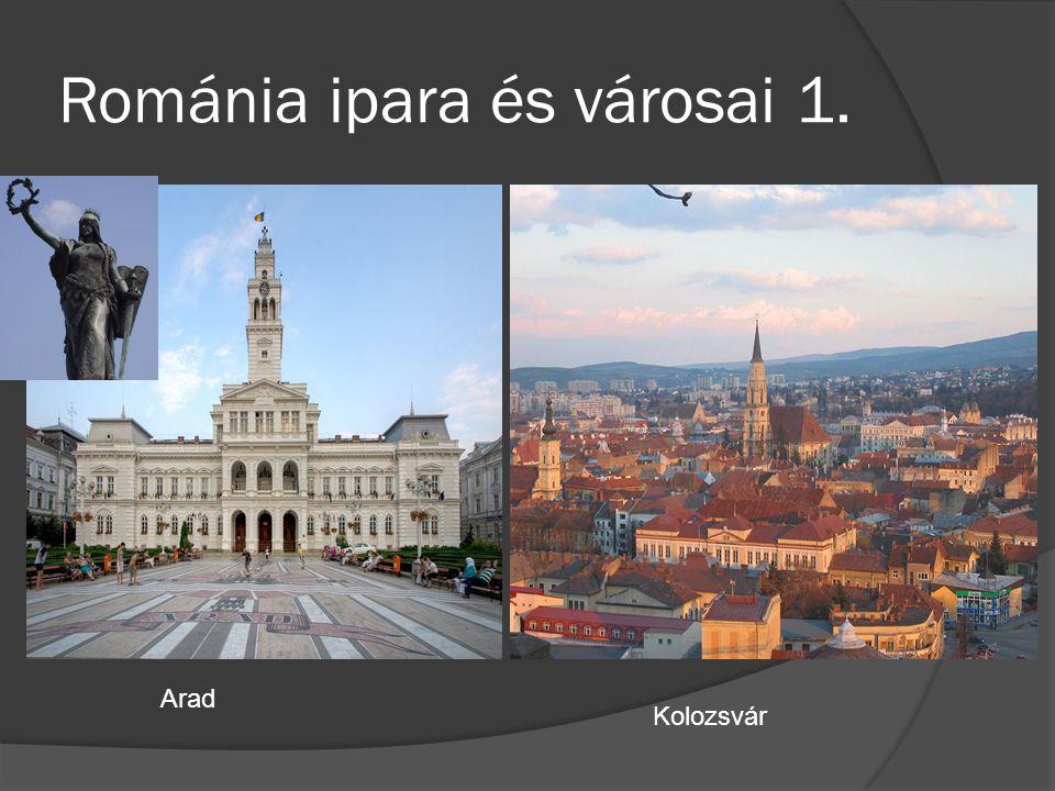 Románia ipara és városai 1.