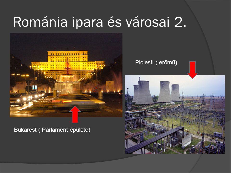 Románia ipara és városai 2.