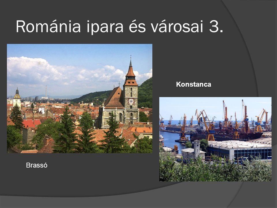 Románia ipara és városai 3.