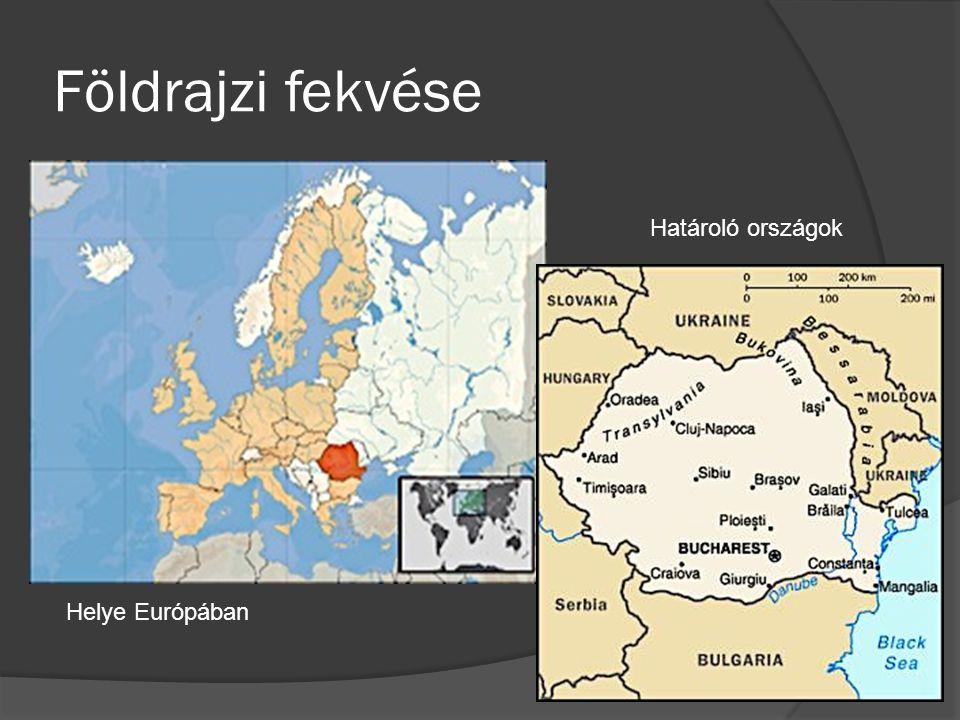 Földrajzi fekvése Határoló országok Helye Európában