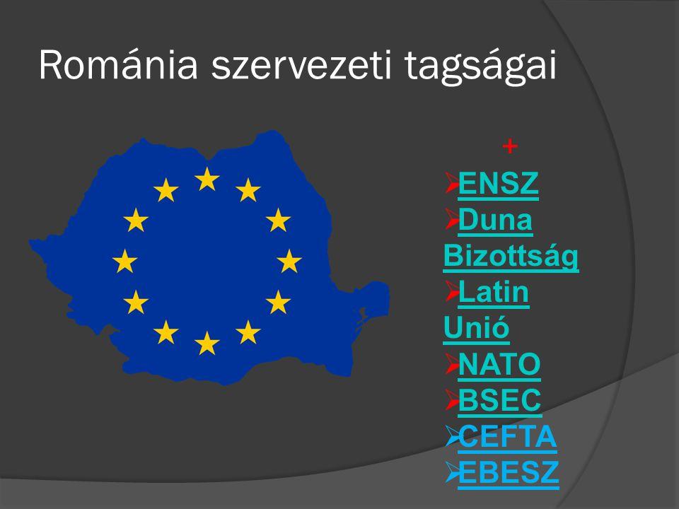 Románia szervezeti tagságai