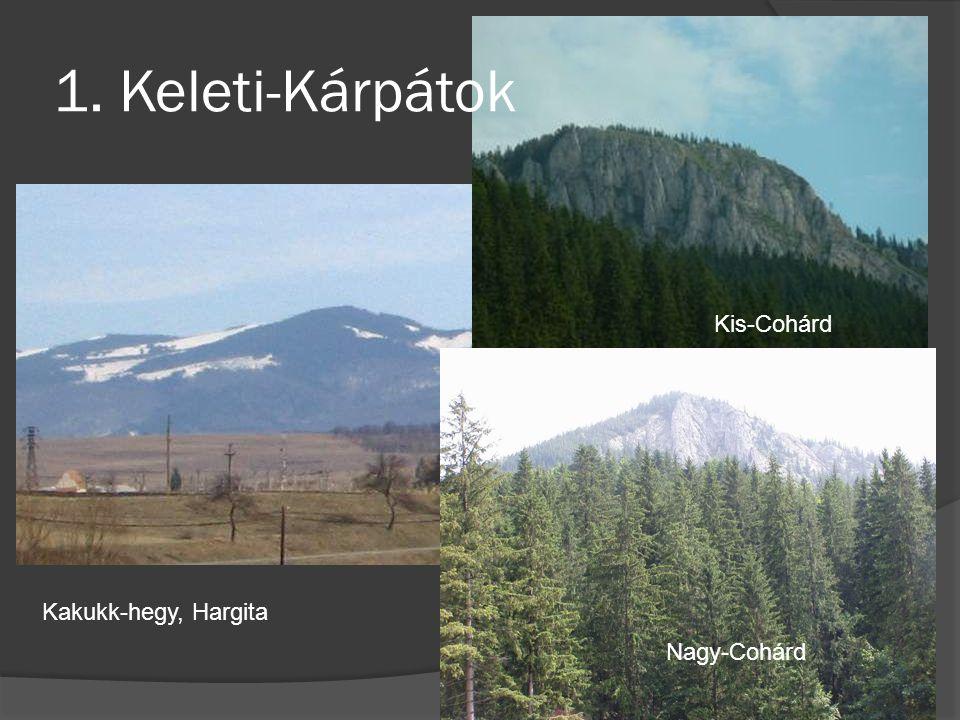 1. Keleti-Kárpátok Kis-Cohárd Kakukk-hegy, Hargita Nagy-Cohárd