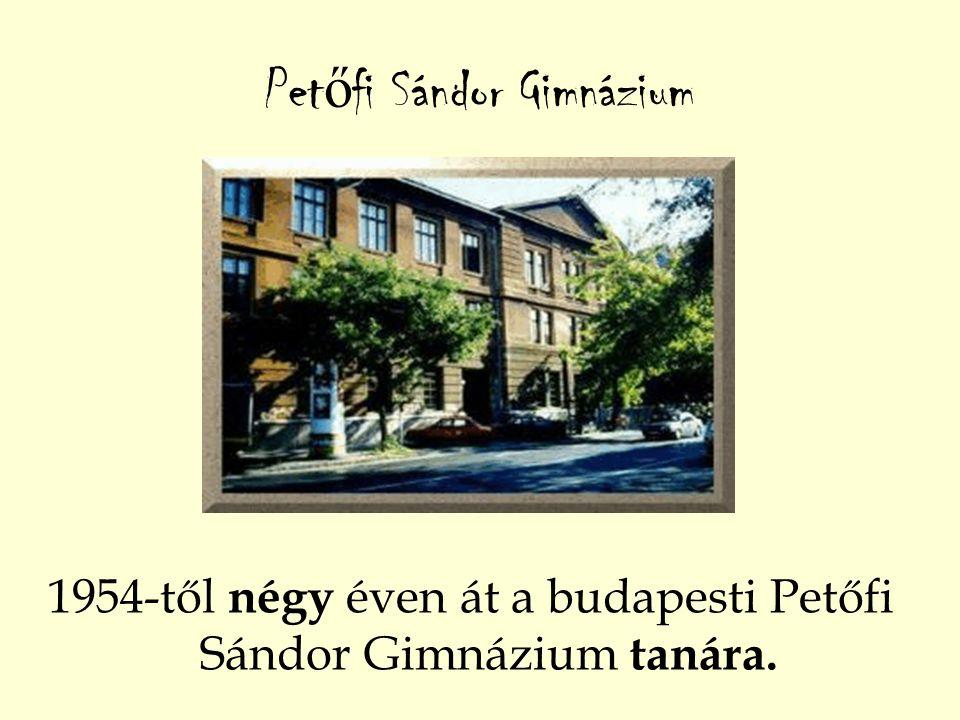 Petőfi Sándor Gimnázium