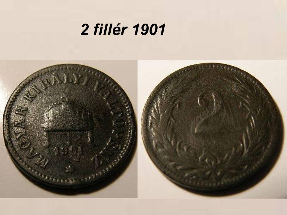 2 fillér 1901