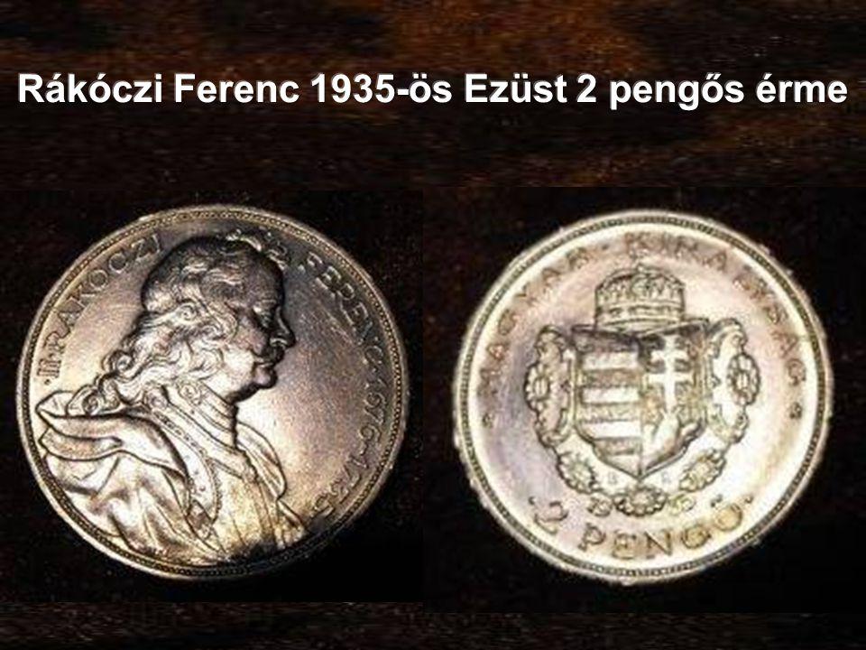 Rákóczi Ferenc 1935-ös Ezüst 2 pengős érme