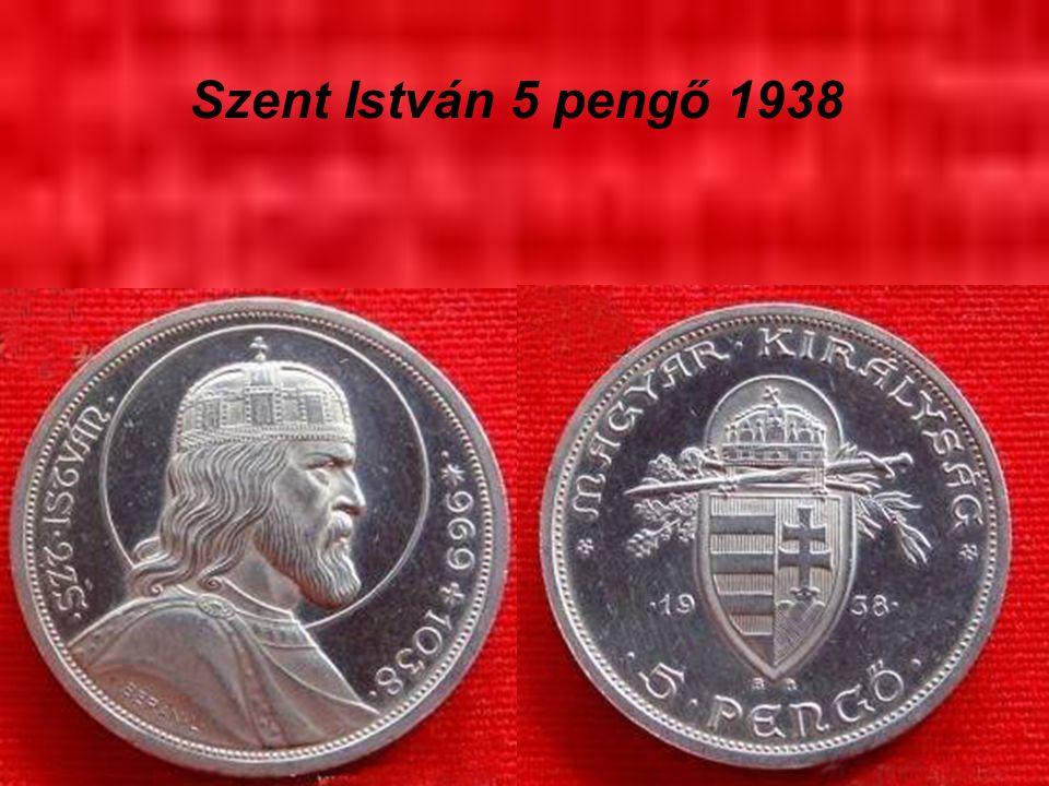 Szent István 5 pengő 1938