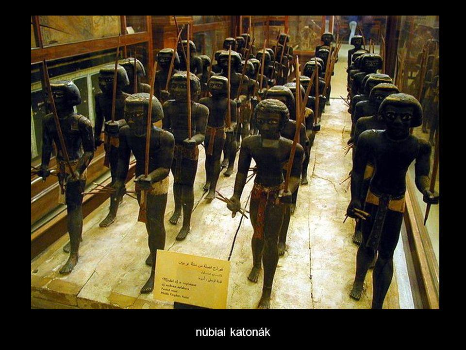 núbiai katonák