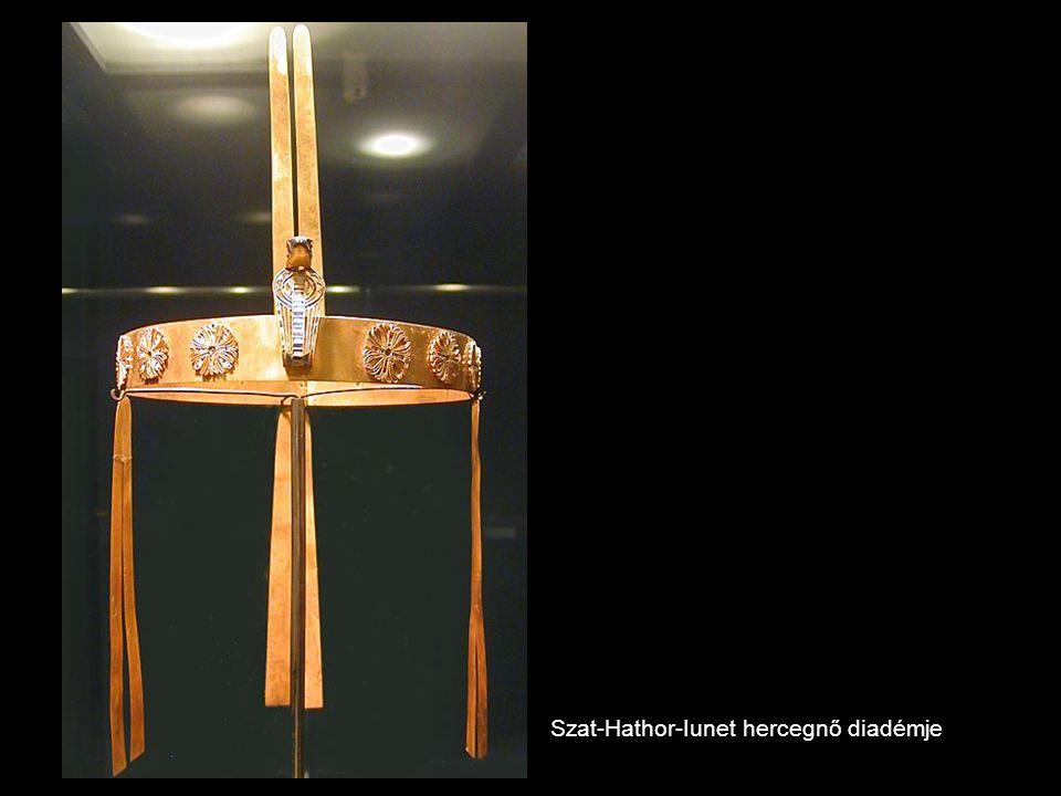 Szat-Hathor-Iunet hercegnő diadémje