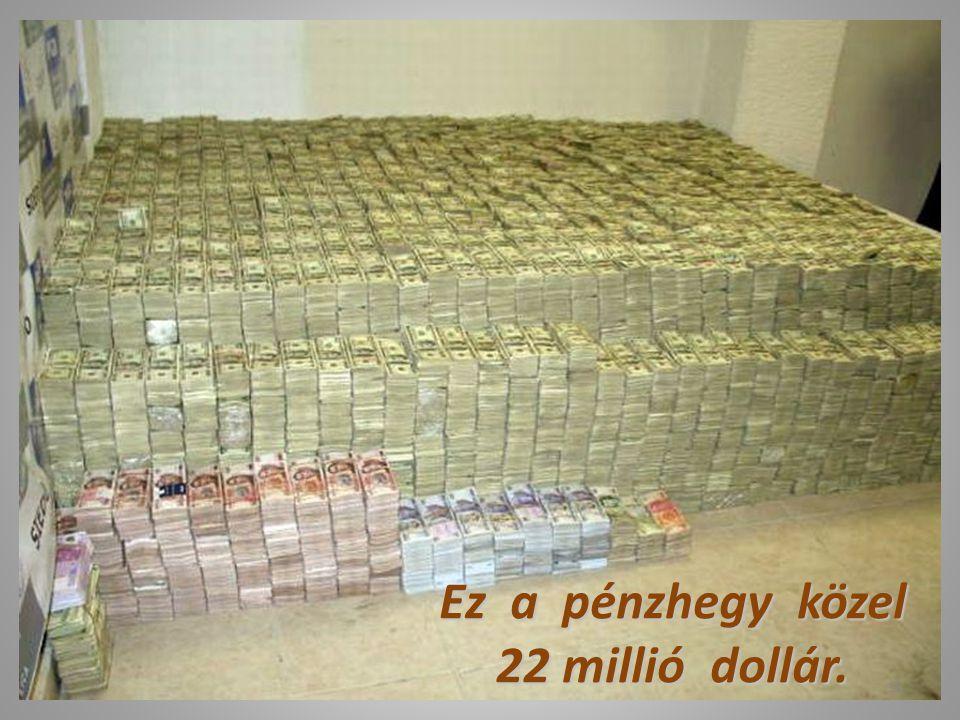 Ez a pénzhegy közel 22 millió dollár.