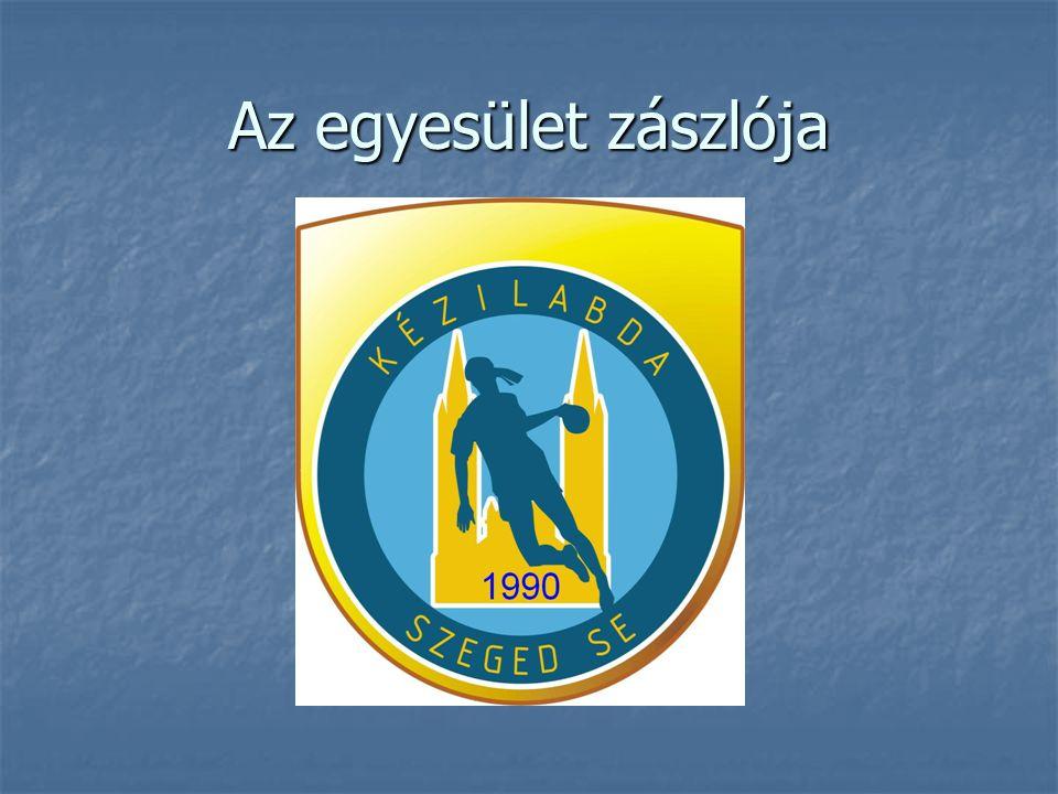 Az egyesület zászlója