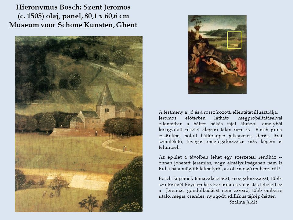 Hieronymus Bosch: Szent Jeromos (c