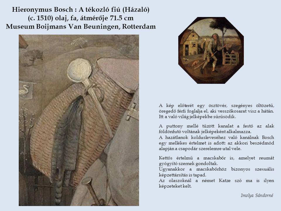 Hieronymus Bosch : A tékozló fiú (Házaló) (c