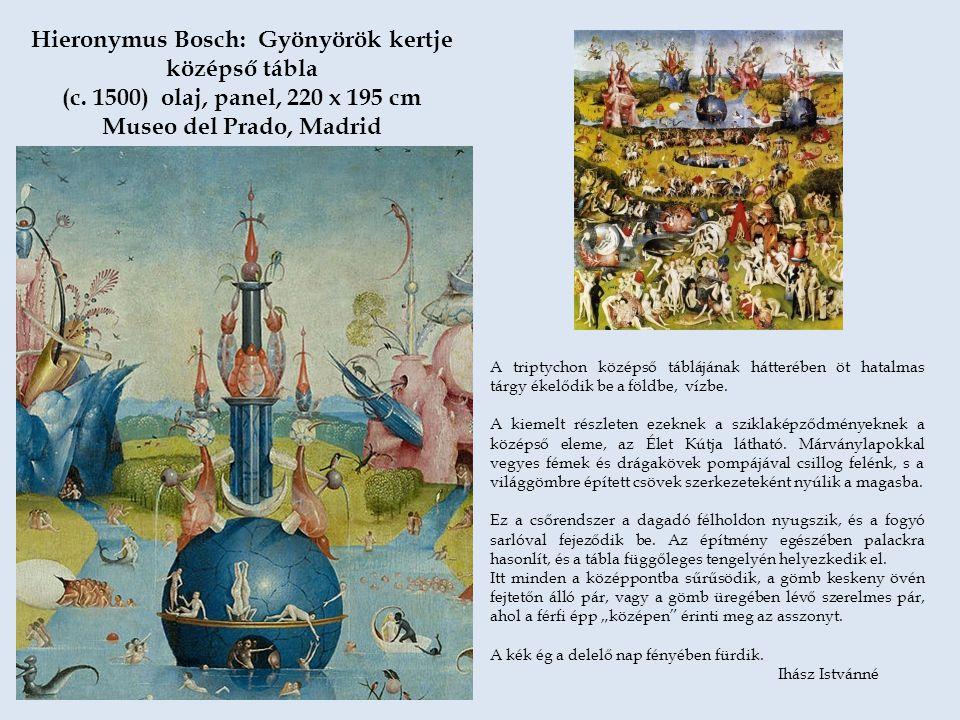 Hieronymus Bosch: Gyönyörök kertje középső tábla (c