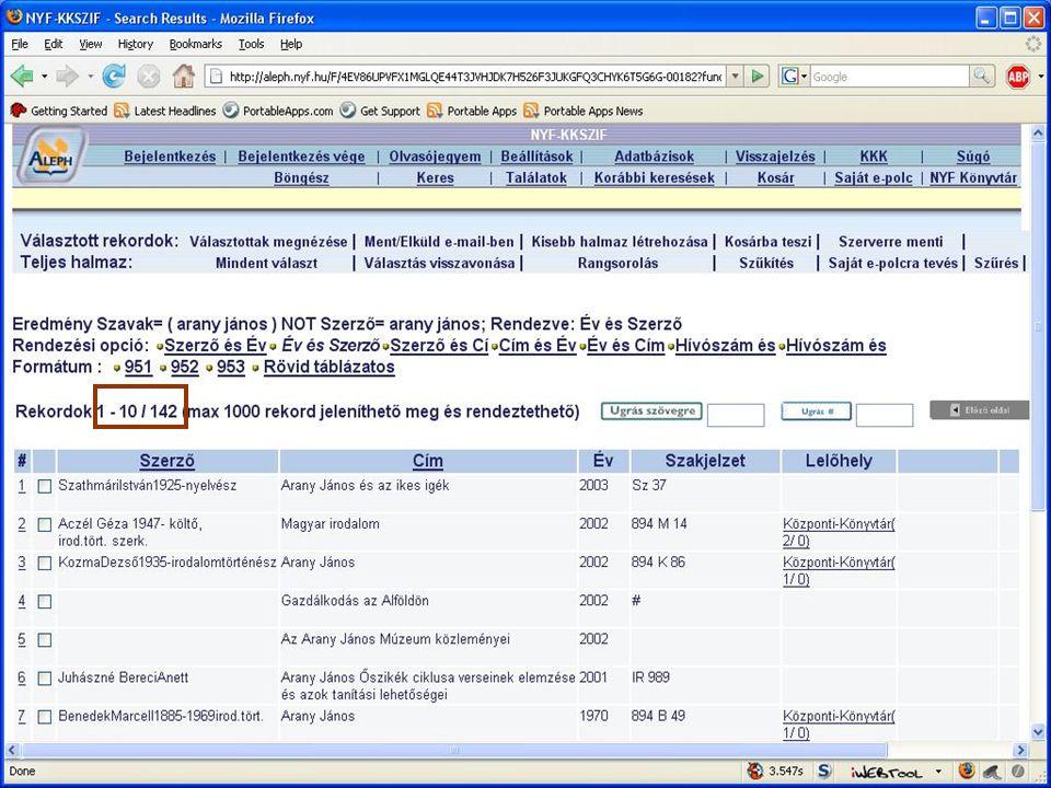 Hatvani István NYF Központi Könyvtár és Szakirodalmi Információs Központ